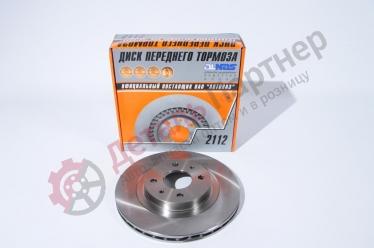Диск переднего тормоза 2112-3501070 (к-т)